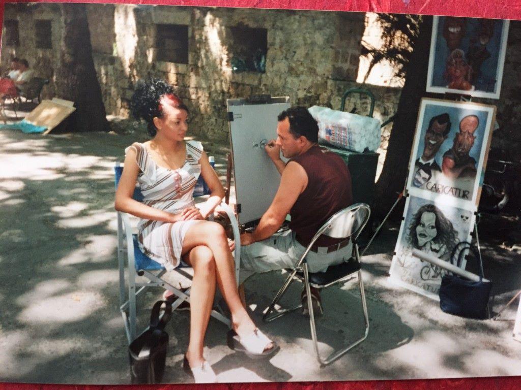 Luokkaretkeltä Rhodokselta, vuonna 2002.